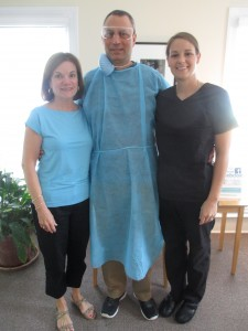 North Raleigh dentist practice staff at Gregg Festa, DDS